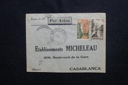 CAMEROUN - Enveloppe De N'Gaoundere Pour Casablanca En 1940 Avec Contrôle , Affranchissement Plaisant - L 50650 - Cameroun (1915-1959)