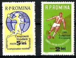 Rumanía Nº 1871/72 Nuevo. Cat.14,50€ - 1948-.... Repúblicas