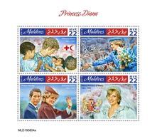 Maldives. 2019 Princess Diana. (0804a)  OFFICIAL ISSUE - Königshäuser, Adel