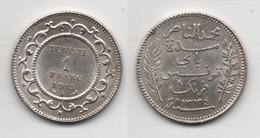 + TUNISIE  + 1 FRANC 1915  + TRES TRES BELLE + - Tunisia