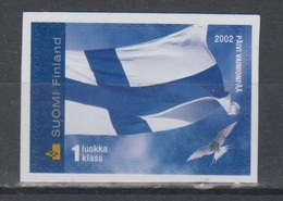 Finland 2002 Mi 1601 Mnh Flag - Finlande