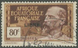 Afrique Equatoriale Française - Brazzaville Colis Postaux Sur N° 113 (YT) N° 115 (AM). Oblitération. - Oblitérés
