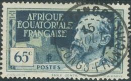 Afrique Equatoriale Française - Madingou / Congo Français Sur N° 47 (YT) N° 45 (AM). Oblitération. - Oblitérés
