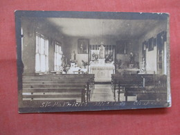 RPPC     To Identify  St Patricks Mission  Ref 3822 - Postcards