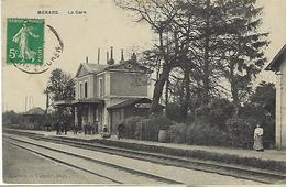FRANCE - MENARS - La Gare - 1913 - Andere Gemeenten