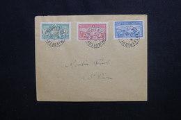 ST PIERRE & MIQUELON - Affranchissement Plaisant Sur Enveloppe De St Pierre Pour St Pierre En 1926 - L 50662 - St.Pierre Et Miquelon