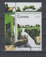 Lithuania 2017 Mi 1253 Used Canal Locks Of Kaiser Willhelm - Lituanie