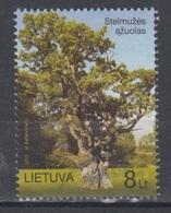Lithuania 2010 Mi 1040 Used Oldest Oak - Lituanie