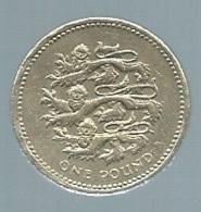 GREAT BRITAIN 1 POUND 1997 PLANTTAGENET LIONS Pieb 21704 - 1 Pound