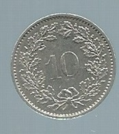 Suisse - 10 Rappen 1977  Pieb 21804 - Suisse
