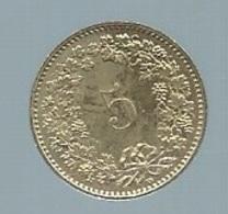 Suisse 5 Rappen 1991  Pieb 21806 - Suisse