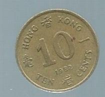 HONG KONG 10 Cents 1982 Pieb 21807 - Hongkong