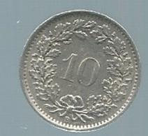 SUISSE : 10 RAPPEN 1968 Pieb 21906 - Suisse