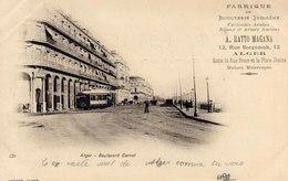 ALGER.- BOULEVARD CARNOT - Algeri