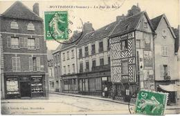 MONTDIDIER : LA RUE DE ROYE - Montdidier