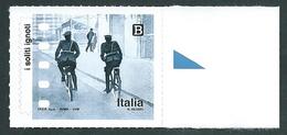 Italia, Italy, Italien, Italie 2018; Due Carabinieri In Bicicletta Perlustrano La Città, 2 Carabinieri By Bicycle. - Radsport