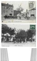 GANNAT     Lot De 2 Cartes - Francia