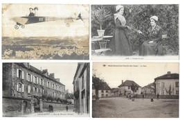 Lot De 400 Cartes Postales/France/Etranger/Fantaisies...Format CPA - Postkaarten