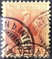 1917 Pro Juventute Tessinerin MiNr: 135 - Pro Juventute