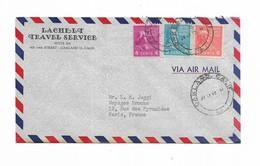 1955 Usa Lachelt Travel Service OAKLAND - Marcophilie
