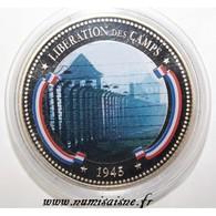 FRANCE - MÉDAILLE - LIBÉRATION DES CAMPS - 1945 - BE - France