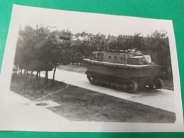 LWS War Ein Schwimmfähiges Kettenfahrzeug Der Wehrmacht 2. WK  FOTO  WWII - Guerra, Militari