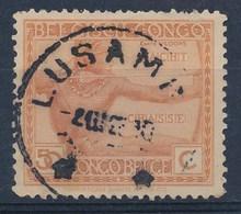 """BELGISCH-KONGO - OBP Nr 123 - Cachet """"LUSAMBO"""" - (ref. 118) - Congo Belge"""