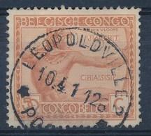 """BELGISCH-KONGO - OBP Nr 123 - Cachet """"LEOPOLDVILLE - POSTES"""" - (ref. 120) - Congo Belge"""