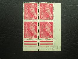 Type Mercure N°406  COIN DATE TTB - 1940-1949