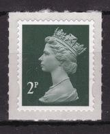 Great Britain 2011 Decimal Machin 2p With Date Code Self Adhesive Définitive Stamp. - 1952-.... (Elizabeth II)