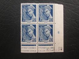 Type Mercure N°414A  COIN DATE TTB - 1940-1949
