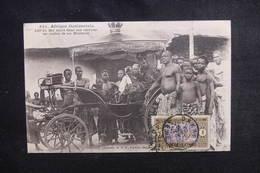 SÉNÉGAL - Carte Postale - Adji KI - Roi Nègre Dans Son Carosse Avec Ses Ministres - L 50675 - Sénégal