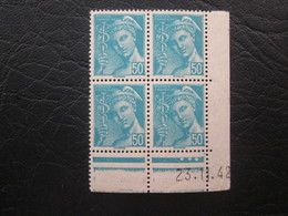 Type Mercure N°549  COIN DATE TTB - 1940-1949