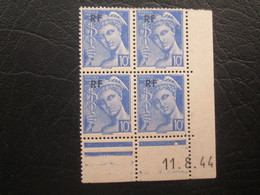 Type Mercure N°657  COIN DATE TTB - 1940-1949
