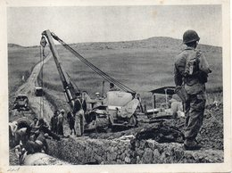 """FRANCE : GUERRE D' ALGÉRIE . CP EN FM . """" GRACE A L'ARMEE DE PACIFICATION ......   """" . ÉCRITE . - Guerra De Argelia"""