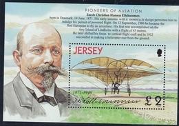 Jersey, 2003, 1068 Block 36 II, Geschichte Der Luftfahrt, History Of Aviation, MNH ** - Jersey