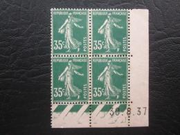 Type Semeuse N°361  COIN DATE TTB - 1940-1949