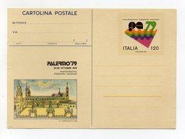 Italia - 1979 - Palermo - Cartolina Postale  Manifestazione  Palermo '79 - (FDC19240) - 6. 1946-.. Repubblica