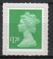 Great Britain 2012 Decimal Machin £1.28p With Date Code Self Adhesive Définitive Stamp. - 1952-.... (Elizabeth II)