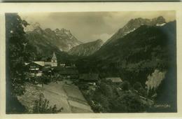 SWITZERLAND - GRYON - EDIT. GUGGENHEIM & C. - RPPC POSTCARD 1930s (6983) - VD Vaud