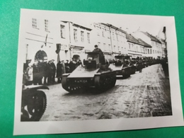 1936 WILNO VILNIUS LITHAUEN PANZER - Guerra, Militari