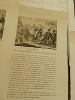 France- Lot  De 12 FICHES ( Gravuressur Acier+ Biographie) De Personnages Historique Période   Vers 1750-1800  Voir Phot - Vecchi Documenti