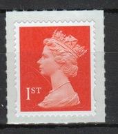 Great Britain 2012 Decimal Machin 1st Class With Date Code Self Adhesive Définitive Stamp. - 1952-.... (Elizabeth II)