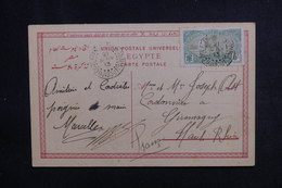 CÔTE DES SOMALIS - Affranchissement De Djibouti Sur Carte Postale De Port Saïd En 1913 Pour Giromagny - L 50690 - Côte Française Des Somalis (1894-1967)