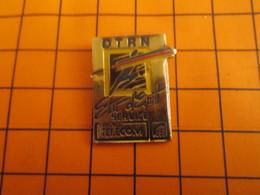 2519 PINS PIN'S / Beau Et Rare : Thème FRANCE TELECOM / DTRN ETAT D'ESPRIT SERVIOCE Puis Vint La Privatisation ! - Telecom De Francia