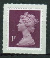 Great Britain 2013 Decimal Machin 1p With Date Code Self Adhesive Définitive Stamp. - 1952-.... (Elizabeth II)