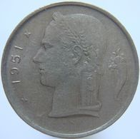 LaZooRo: Belgium 1 Franc 1951 XF / UNC - 1945-1951: Regencia