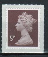 Great Britain 2013 Decimal Machin 5p With Date Code Self Adhesive Définitive Stamp. - 1952-.... (Elizabeth II)