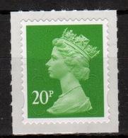 Great Britain 2013 Decimal Machin 20p With Date Code Self Adhesive Définitive Stamp. - 1952-.... (Elizabeth II)