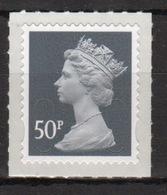 Great Britain 2013 Decimal Machin 50p With Date Code Self Adhesive Définitive Stamp. - 1952-.... (Elizabeth II)